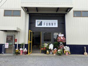 bouldering garage FUNNY オープンいたしました。